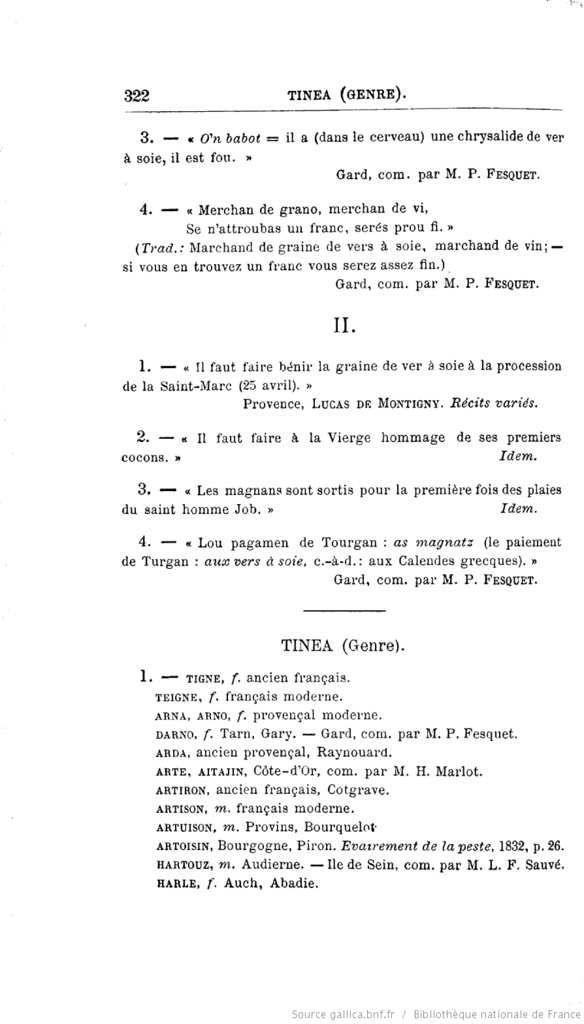 Eugène Rolland : Faune populaire de France,Tome III : Les reptiles, les poissons, les mollusques, les crustacées et les insectes, 1881, Gallica page 322.