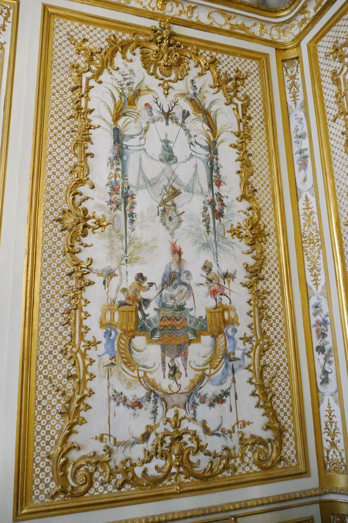 Panneau de la Chasse, Grande Singerie, Château de Chantilly, photographie lavieb-aile.