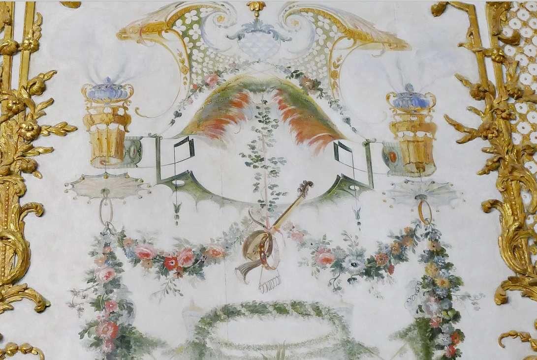 L'Idole chinoise, Grande Singerie, château de Chantilly, photographie lavieb-aile.