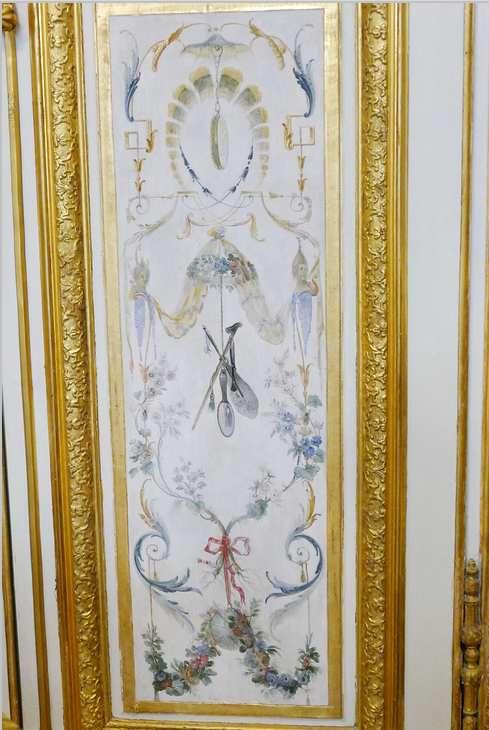 Bas de porte, Porte du fond, Grande Singerie, château de Chantilly, photographie lavieb-aile.