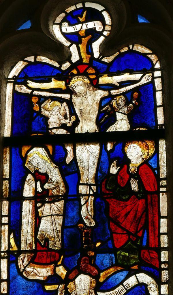 Passion,  Arbre de Jessé, Baie 4, chapelle Saint-Fiacre, Le Faouët, photographie lavieb-aile.