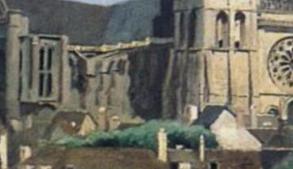 Corot, La Cathédrale de Chartres.