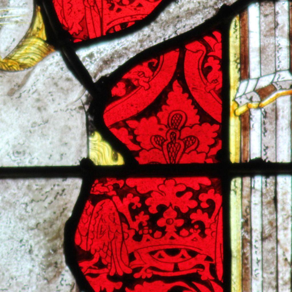 Crucifixion, lancette B, Baie 100, cathédrale de Quimper, photo lavieb-aile.