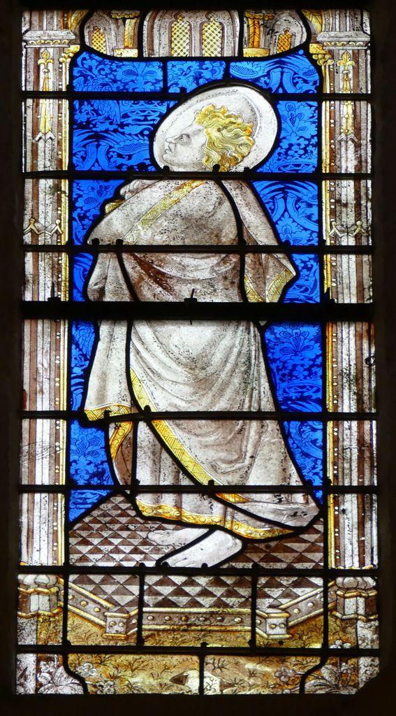 Saint Jean, lancette C, Baie 100, cathédrale de Quimper, photo lavieb-aile.