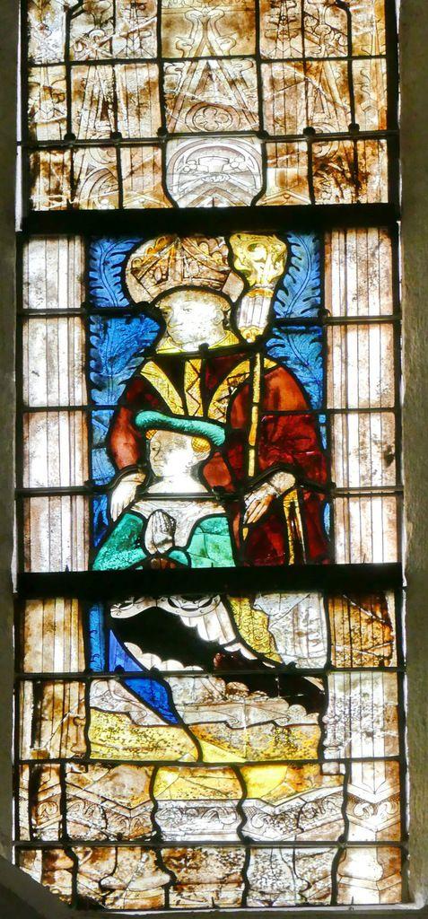 Lancette A, baie n°110, coté sud du chœur de la cathédrale de Quimper, photo lavieb-aile.