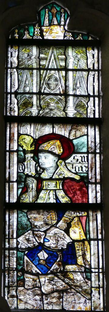 Baie 108, chœur de la cathédrale de Quimper, photographie lavieb-aile.