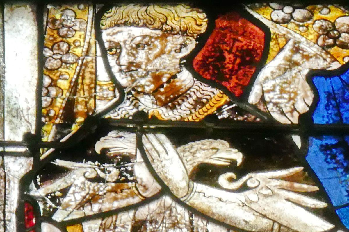 Lancette C, baie 108, chœur de la cathédrale de Quimper, photographie lavieb-aile.