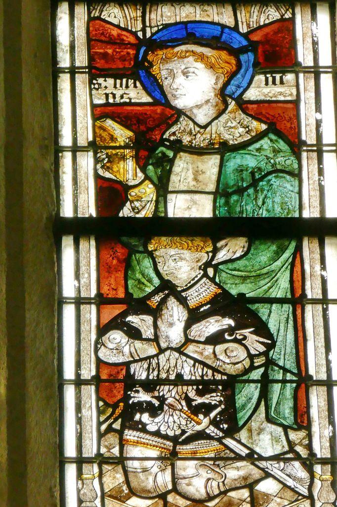 Lancette D, baie 108, chœur de la cathédrale de Quimper, photographie lavieb-aile.