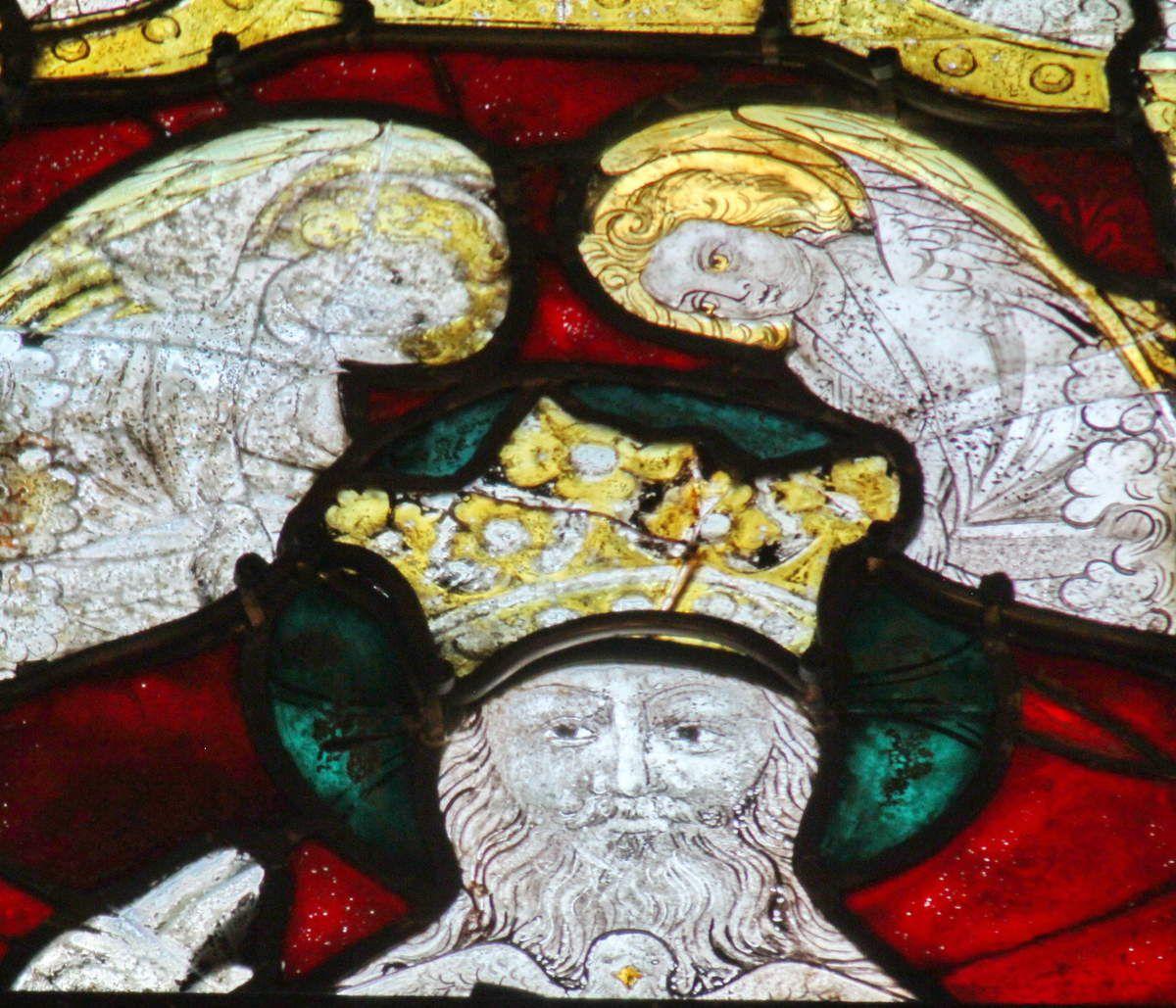 Lancette D, baie n°107, chœur de la cathédrale de Quimper, photographie lavieb-aile.