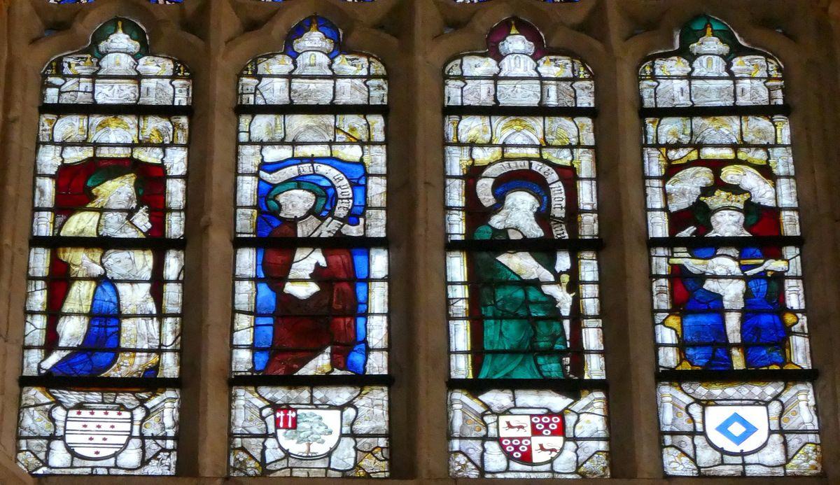 Baie n°107, chœur de la cathédrale de Quimper, photographie lavieb-aile.