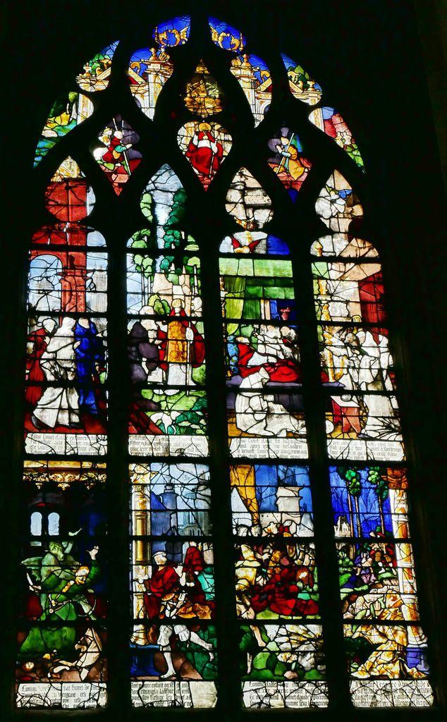 Baie n°9, église Saint-Étienne de Beauvais, photographie lavieb-aile.