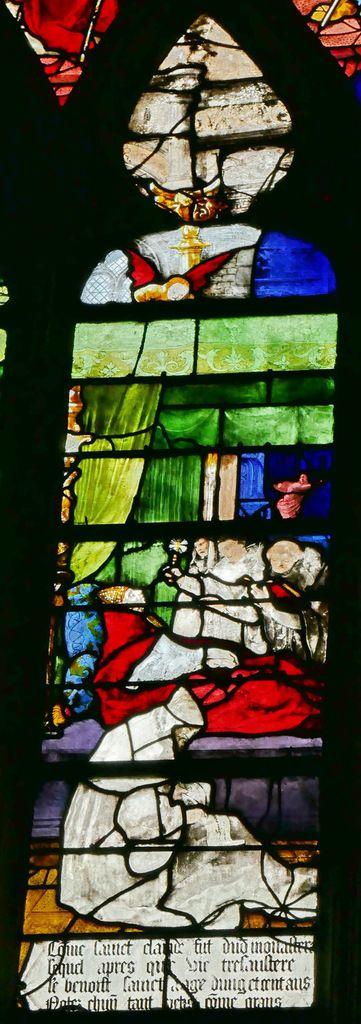 Lancettes C, registre supérieur, baie n°9, église Saint-Étienne de Beauvais, photographie lavieb-aile.