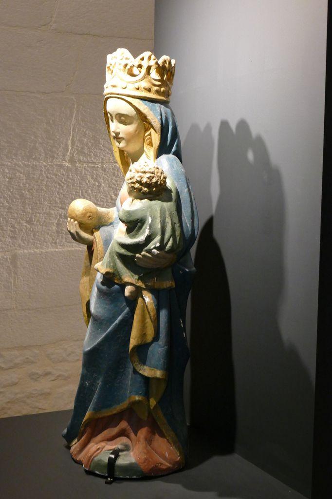 Vierge dite Notre-Dame de Tréguron, chapelle Saint-Vénec, Briec, photographie lavieb-aile.