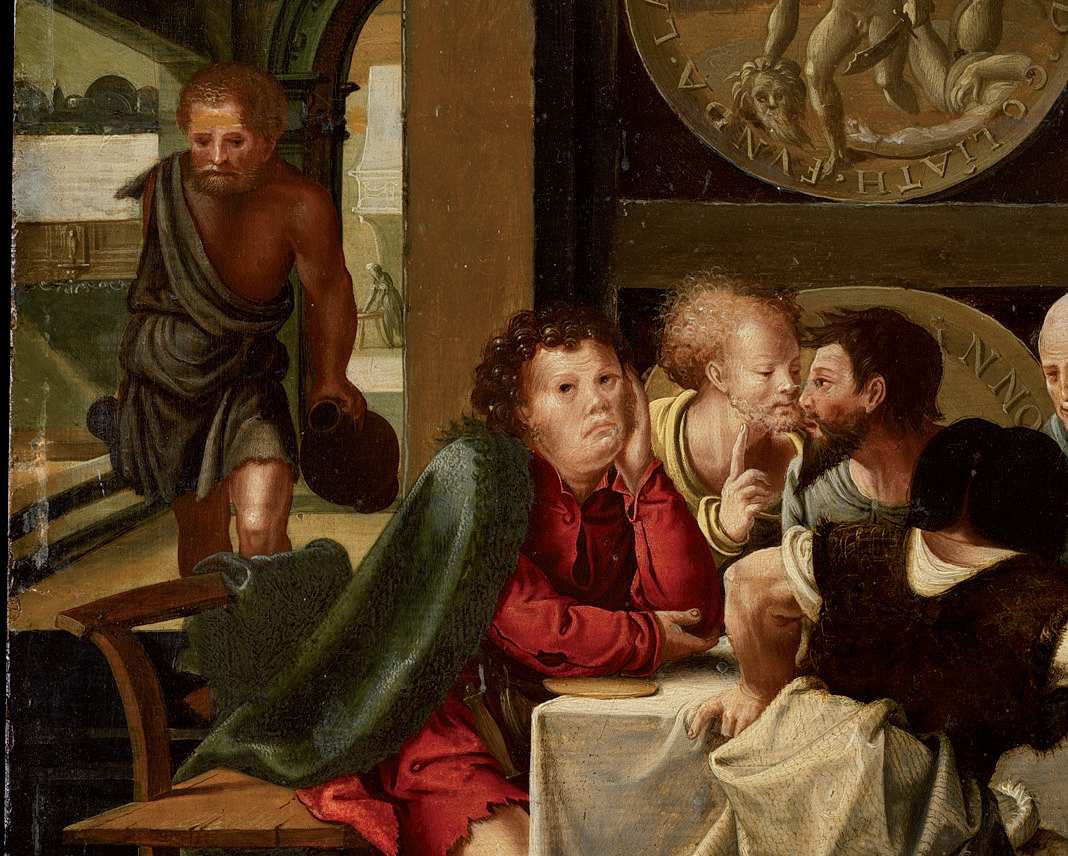 La Cène (détail), Pieter Coecke van Alost.