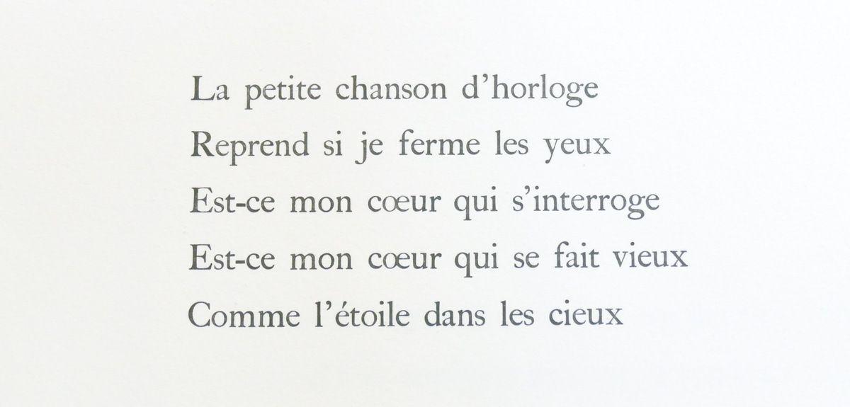 """Aragon, J'ai souvenir d'une fenêtre, in """"Celui qui dit les choses sans rien dire"""", Maeght éditeur, 1976. Photographie lavieb-aile lors de l'exposition de la Fondation Hélène et Édouard  Leclerc à Landerneau."""