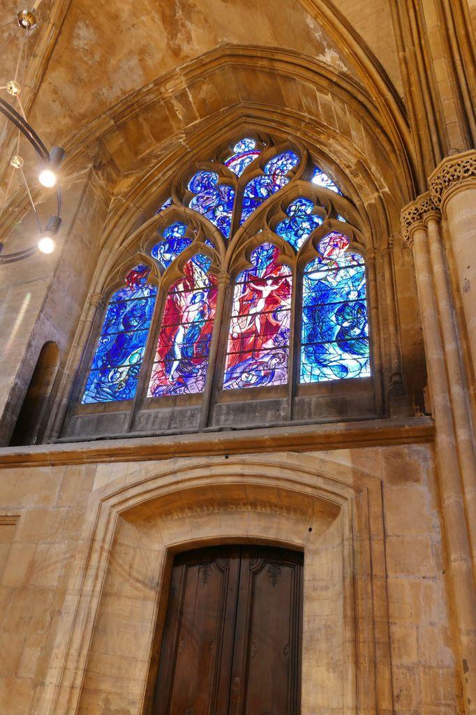 Situation de la baie n°11, cathédrale de Metz, photographie lavieb-aile.