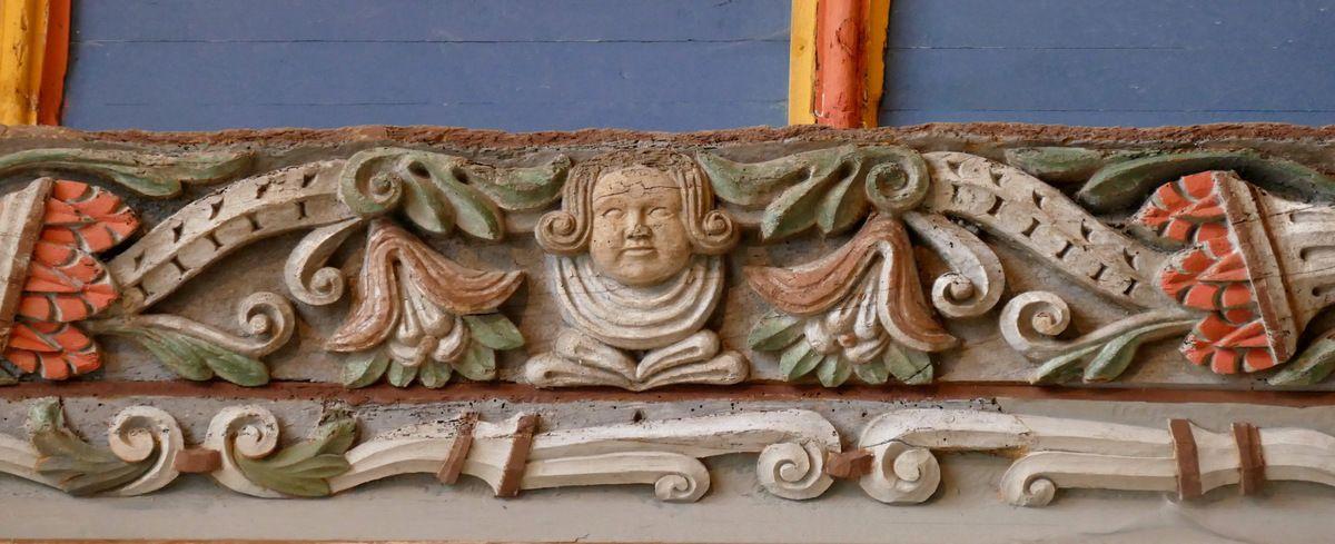 Sablières de l' église Saint-Suliau de Sizun, photographie lavieb-aile.