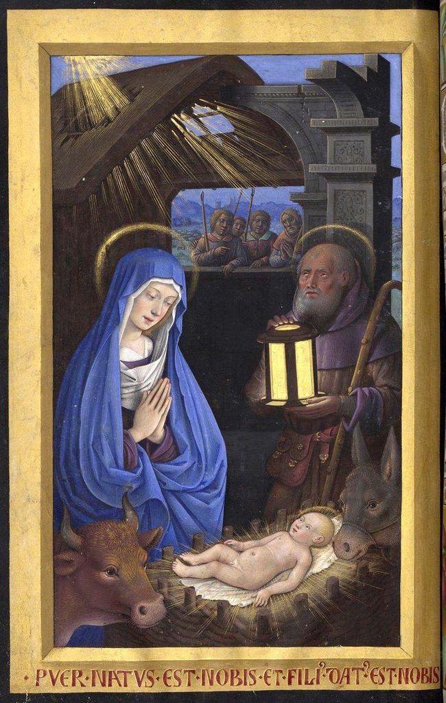 Nativité, baie axiale, église de Brennilis. Photographie lavieb-aile.