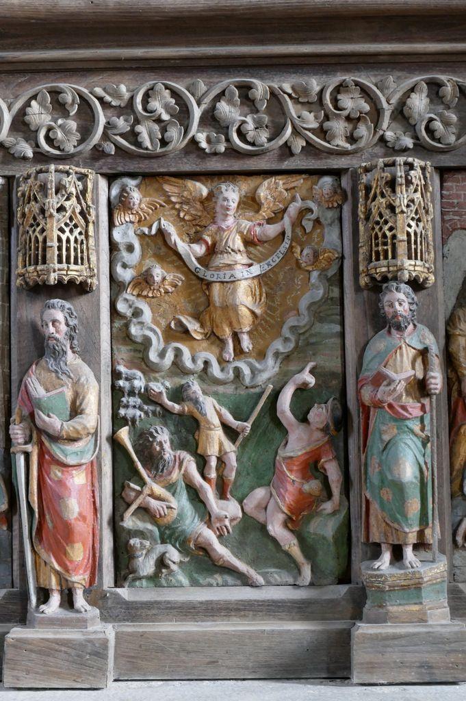 retable du maître-autel, église Notre-Dame de Brennilis, photographie lavieb-aile.