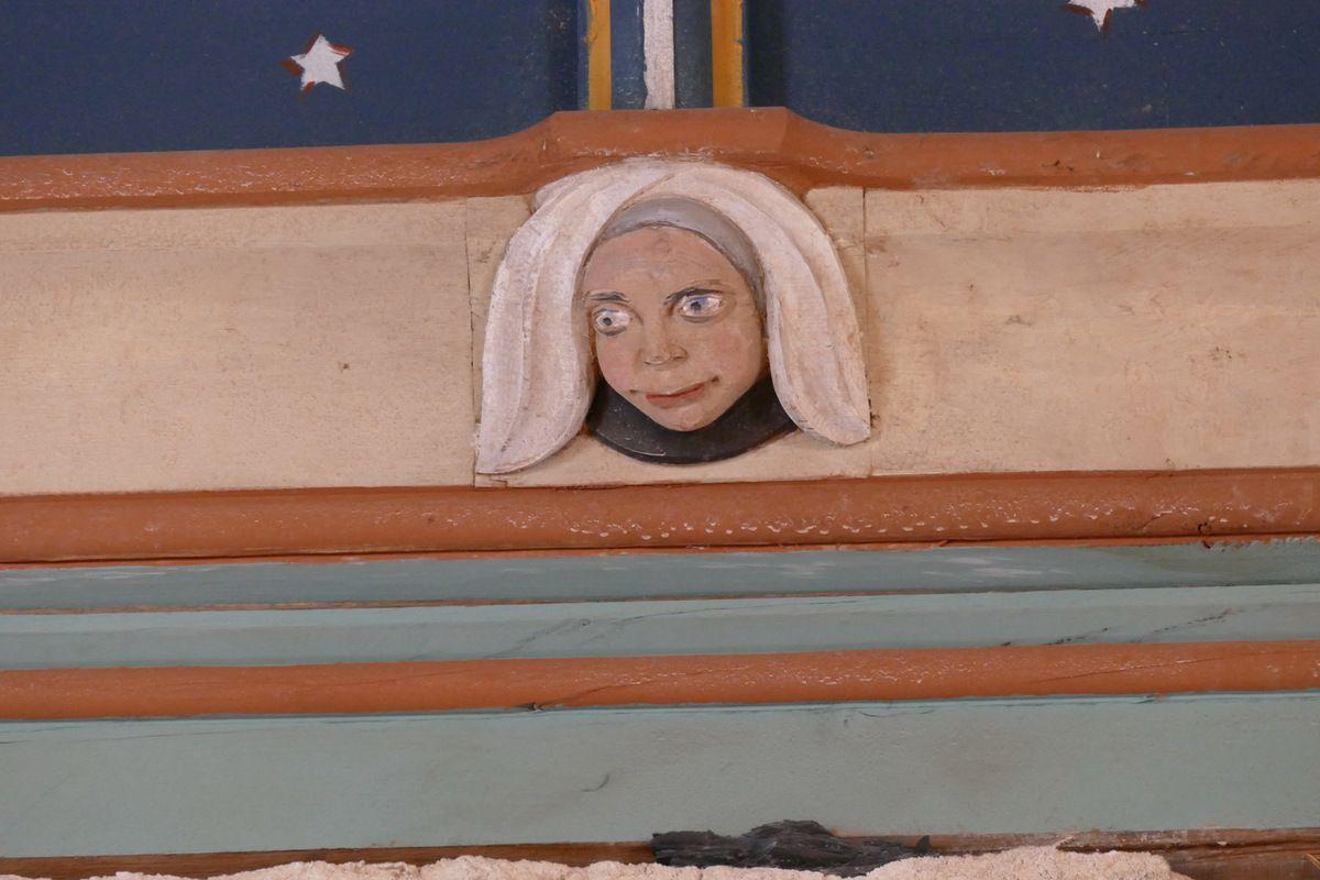 Sablière de la nef, église de Brennilis, photographie lavieb-aile.