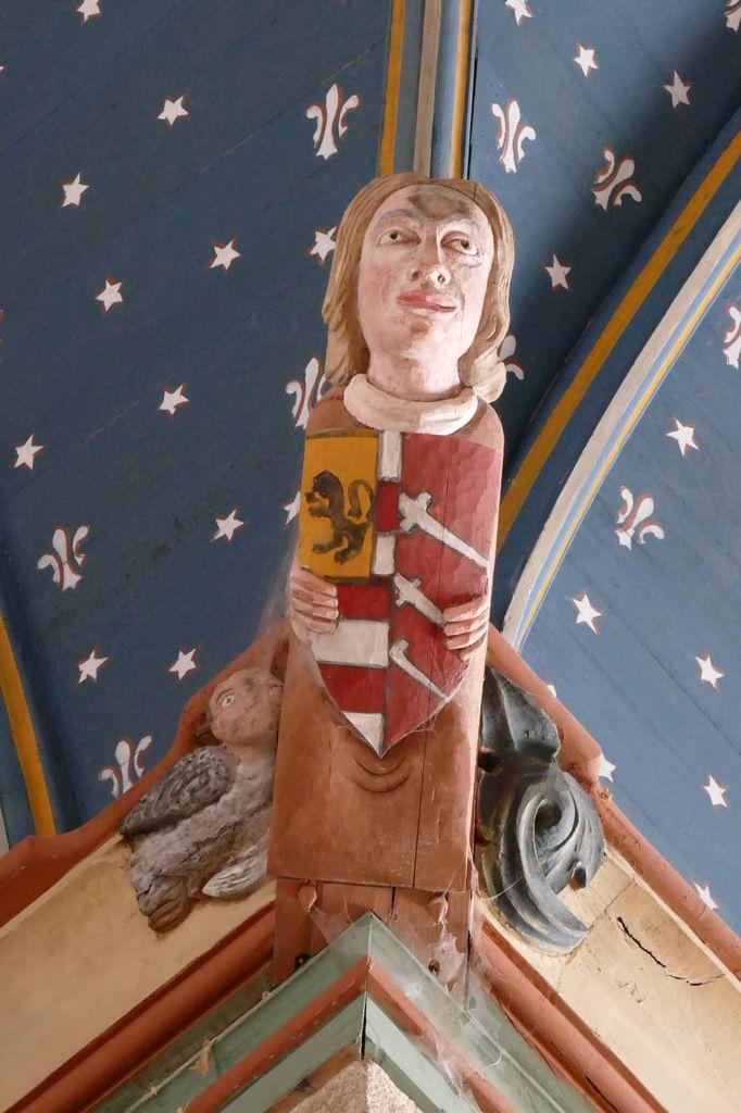 Blochet de la croisée du transept, église de Brennilis, photographie lavieb-aile.