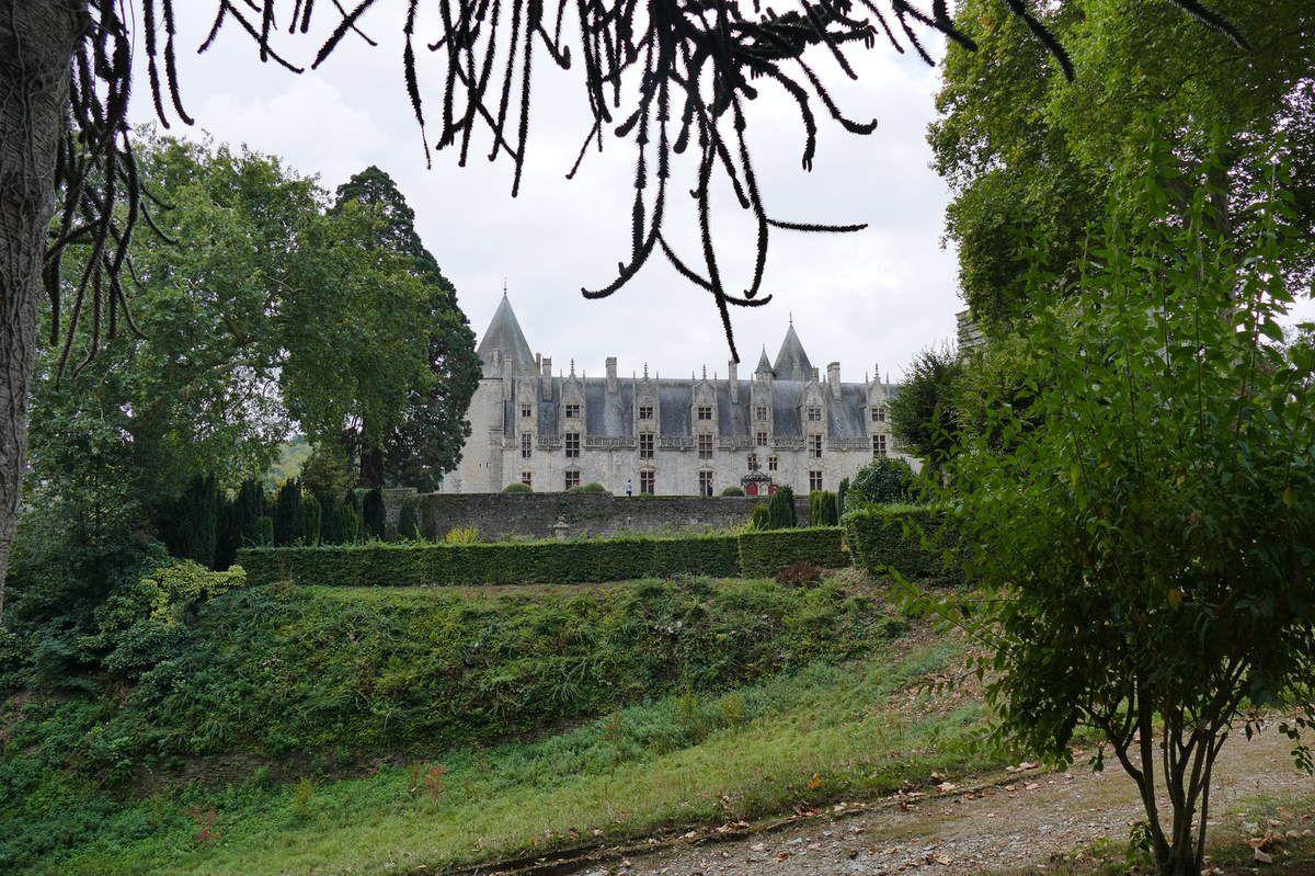 Château de Josselin vu depuis le parc. Photographie lavieb-aile.