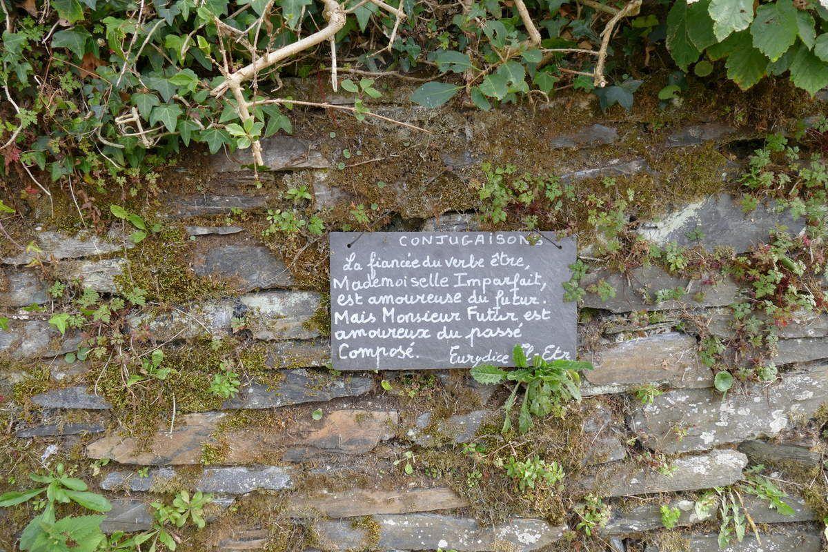 Eurydice El Etr, dont le nom est à lui seul poésie.  Lannédern. Photographie lavieb-aile.