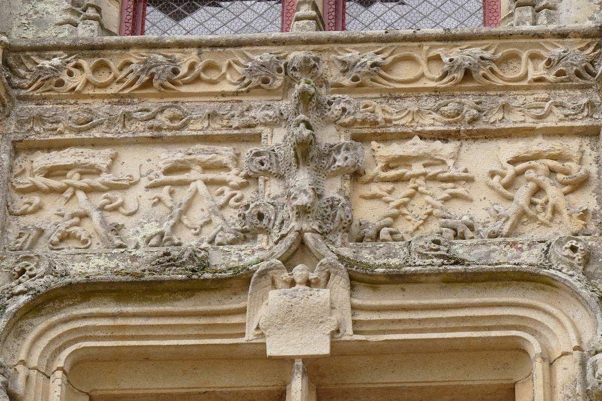 Lucarne L8 du château de Josselin .  Photographie lavieb-aile.