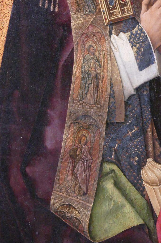 Panneau 2,  Rogier Van der Weyden, Polyptyque du Jugement Dernier, Hospices de Beaune. Photographie lavieb-aile.