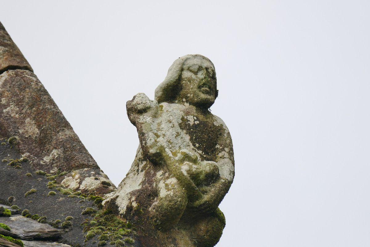 Crossette, église Saint-Salomon de La Martyre. Photographie lavieb-aile.