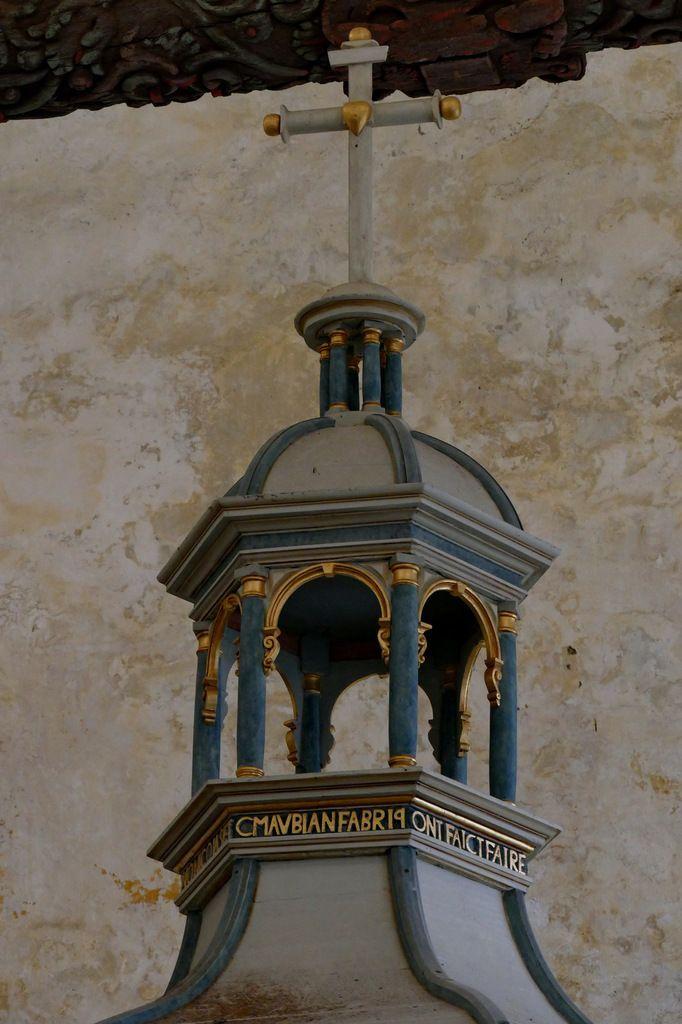 Baldaquin (1635),, église Saint-Salomon de La Martyre. Photographie lavieb-aile.