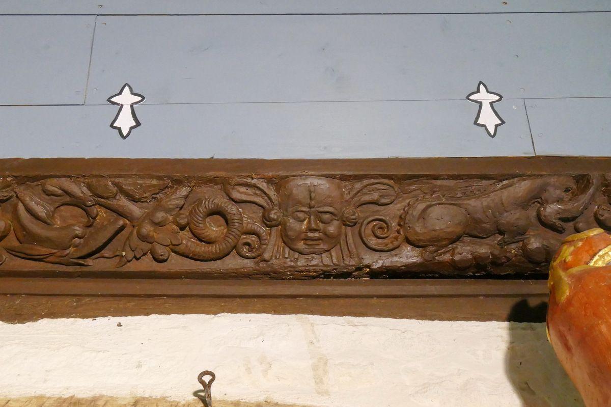 Sablières,  oratoire Notre-Dame, Musée de l'abbaye de Daoulas. Photographie lavieb-aile juin 2017.