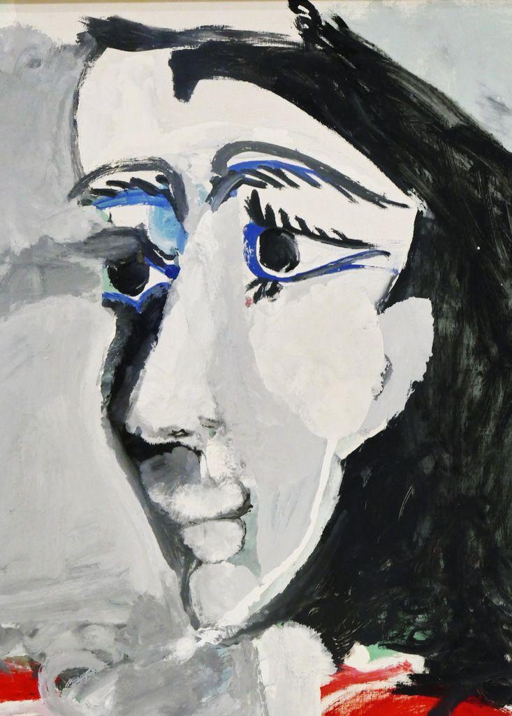 Exposition Picasso à Landerneau : un portrait du Fayoum !