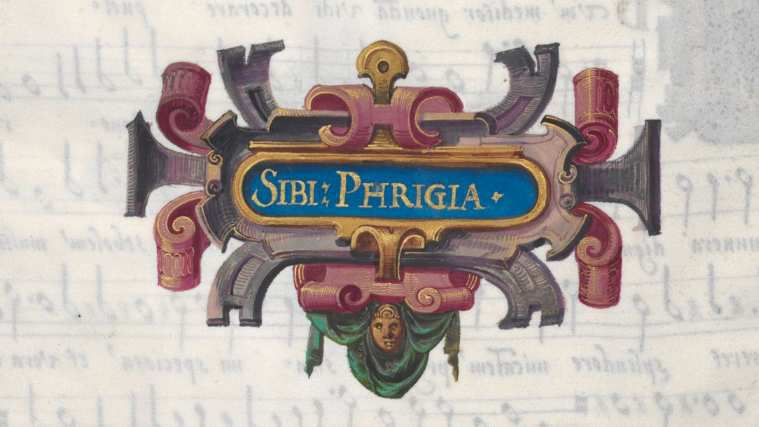 Les douze Sibylles peintes par Hans Mielich pour les Prophetiae Sibyllarum de Roland de Lassus.