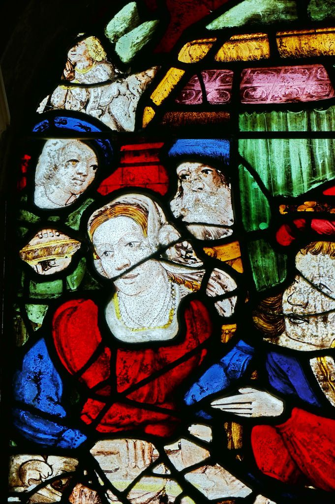 Maîtresse-vitre (baie 0) de l'église de Saint-Divy. Photographie lavieb-aile juillet 2017.