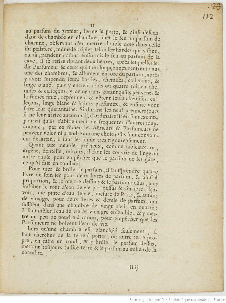 Le Mystère de la Chambre des Parfums (1722-1860) de l'île de Tatihou.