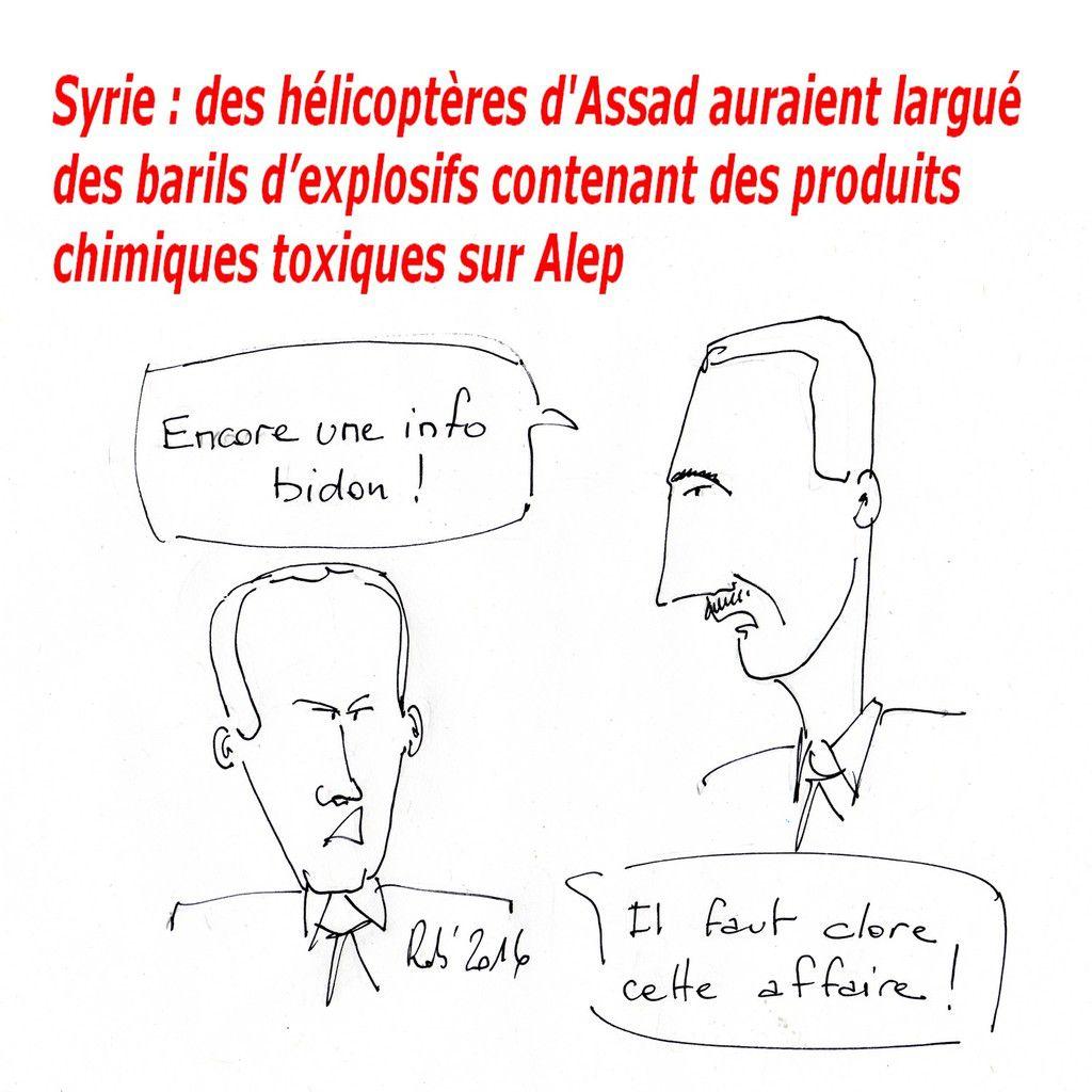 """Comme dirait Vladimir """"Avec notre aide ça gaze pour Assad"""""""
