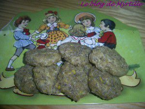 Biscuits citron-olive-pavot