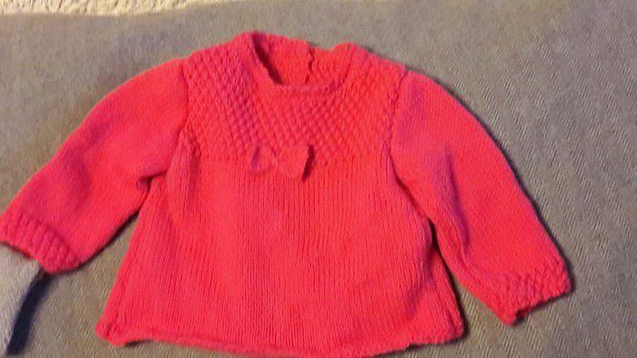 en ce moment j'ai beaucoup tricoté