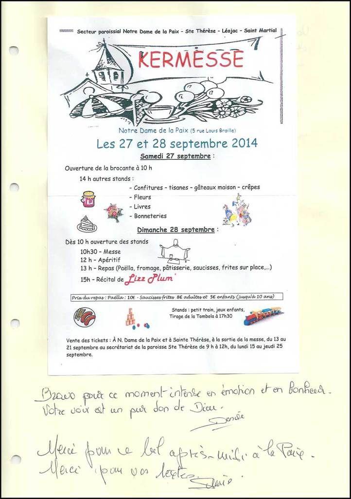 Kermesse, Notre Dame de la Paix, Montauban (82):
