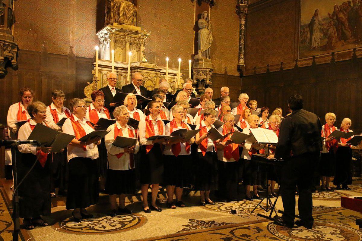 """Concert avec la chorale """"Les Voix du Coeur"""", Nègrepelisse (82):"""