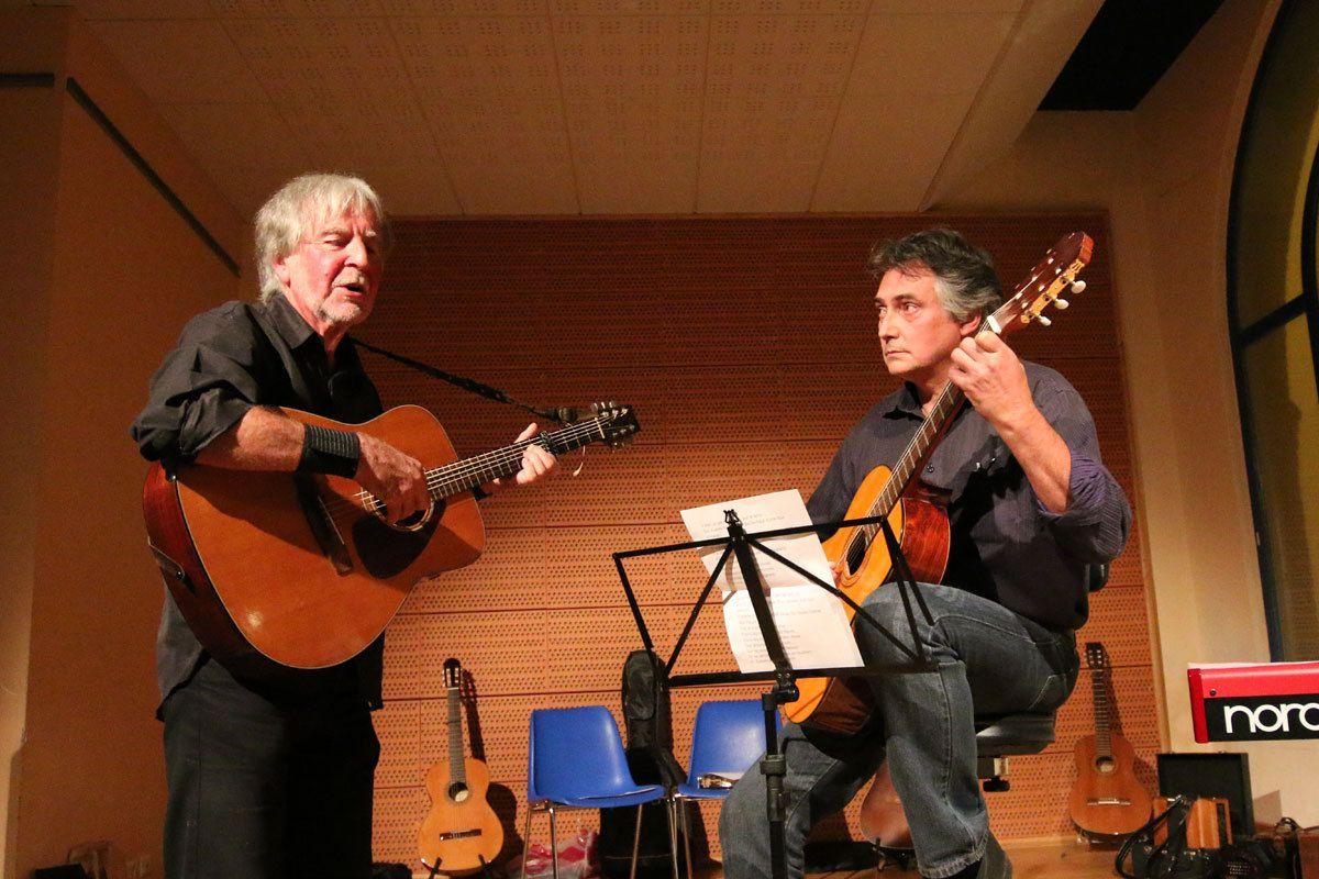 Concert pour le vernissage d'une expo, Molières (82):