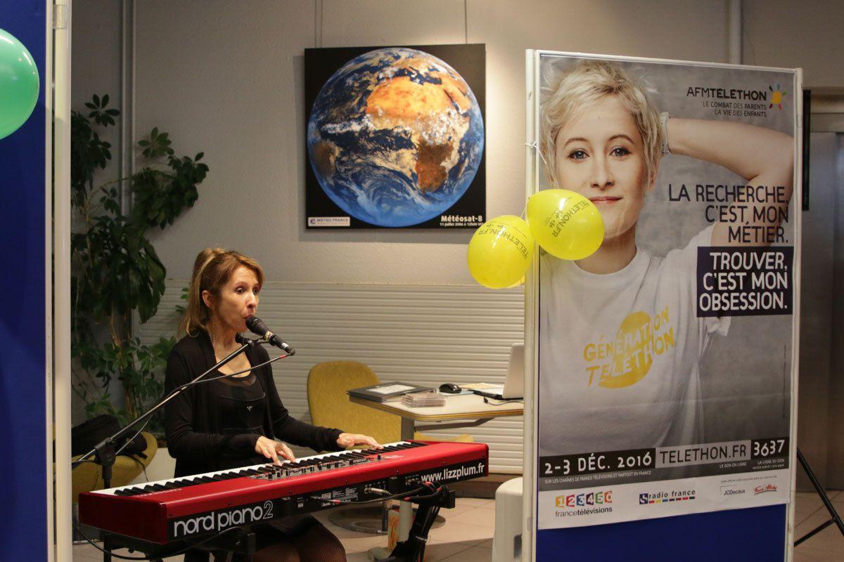 Lancement du 30ème Téléthon, Météo-France (31):