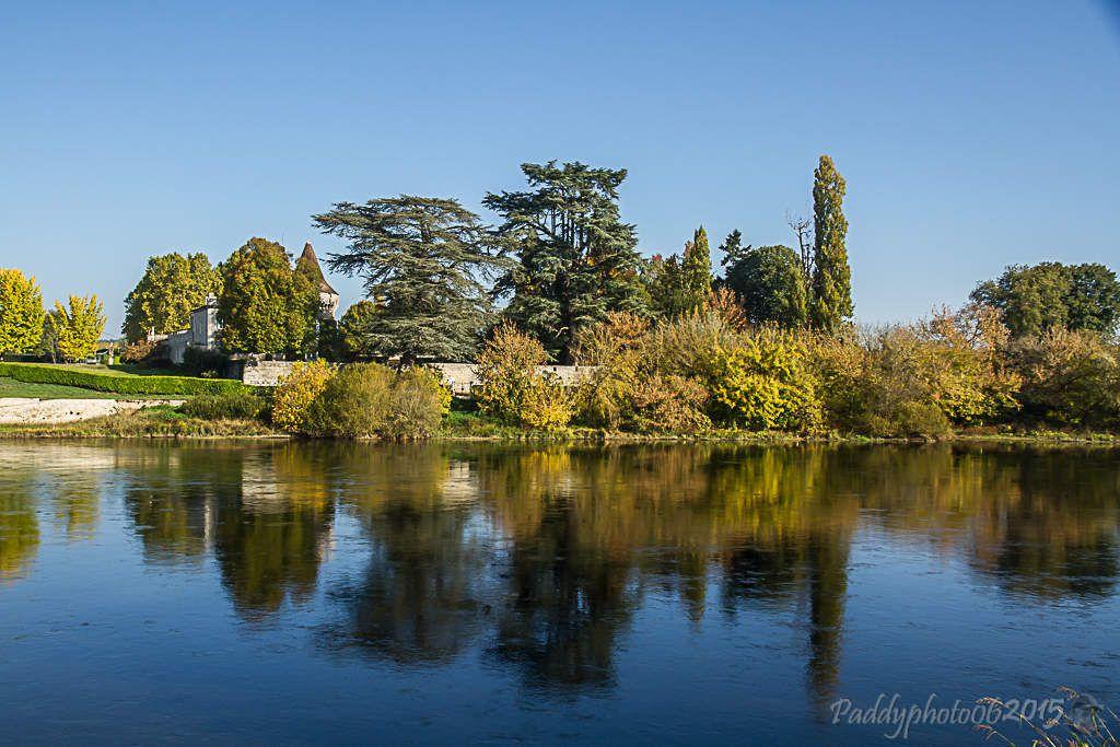 Au bord de la Dordogne