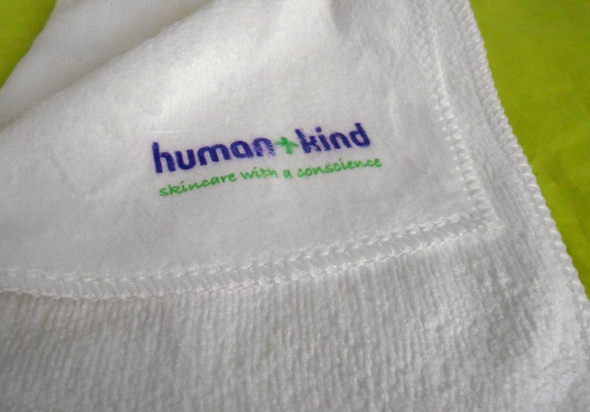Human + Kind : chiffon nettoyant en profondeur