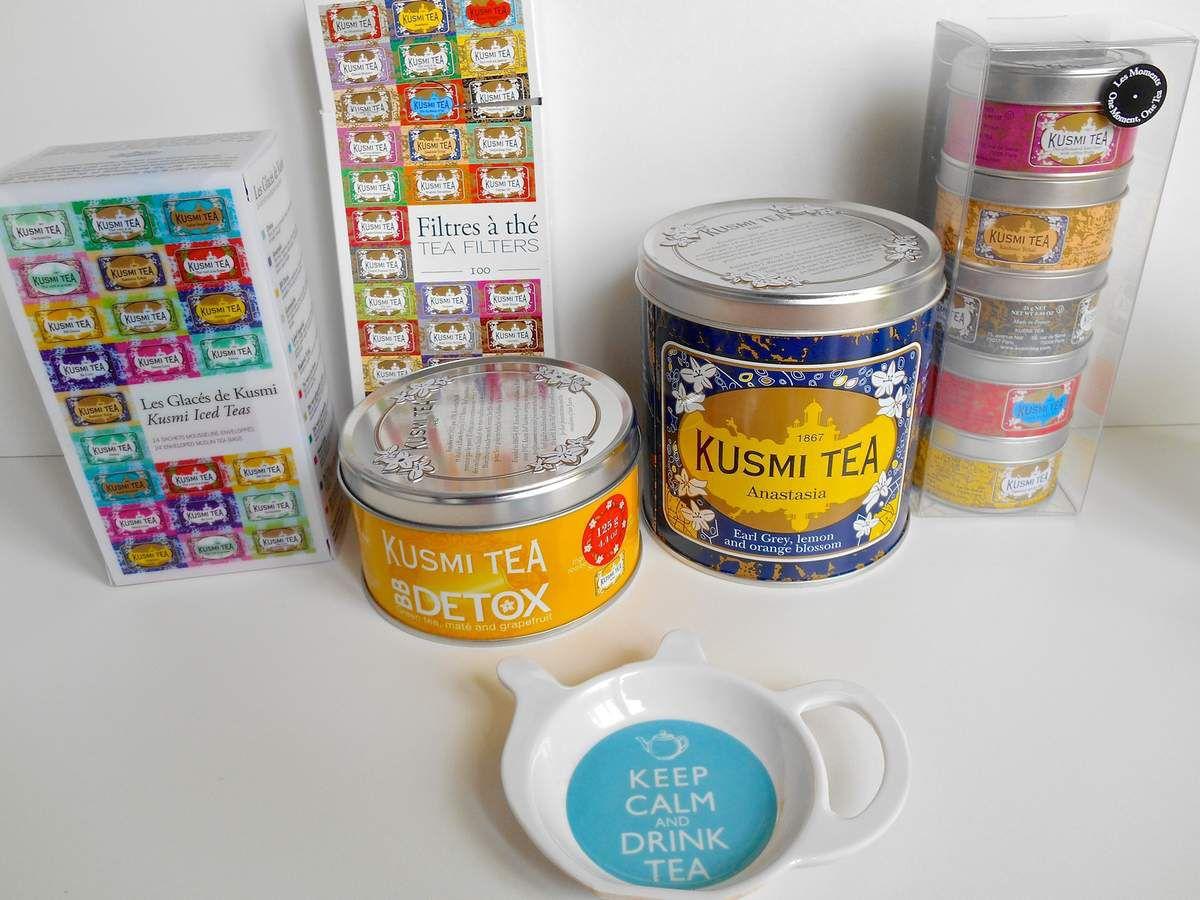 Je suis une grande consommatrice de thé (chaud ou glacé !)