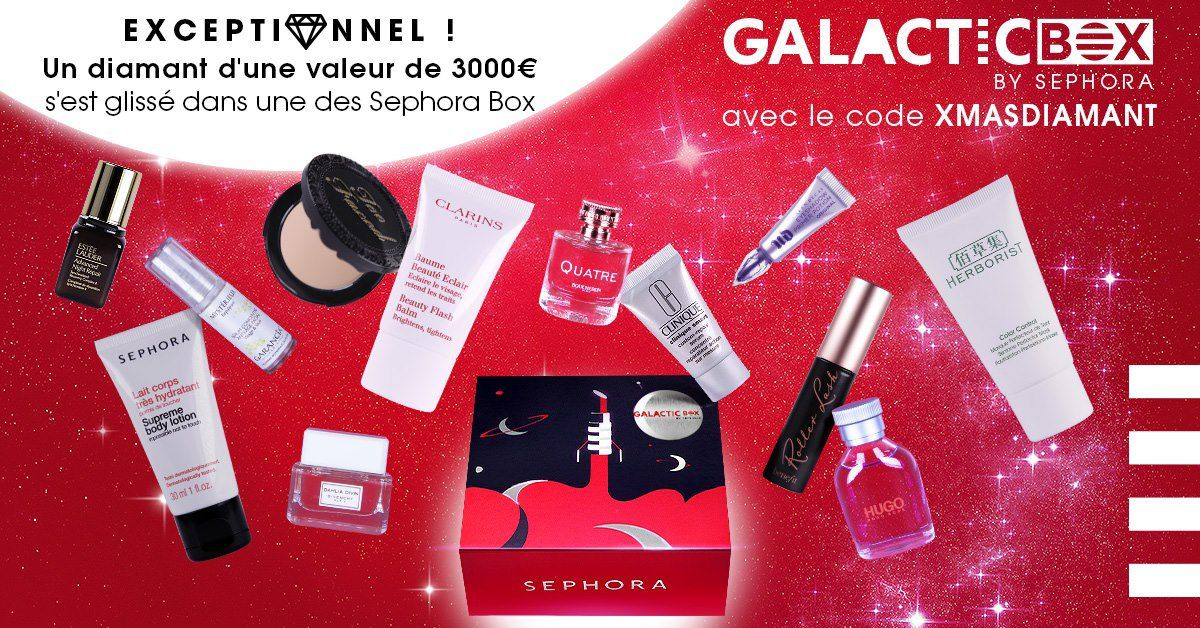 Sephora box ! disponible
