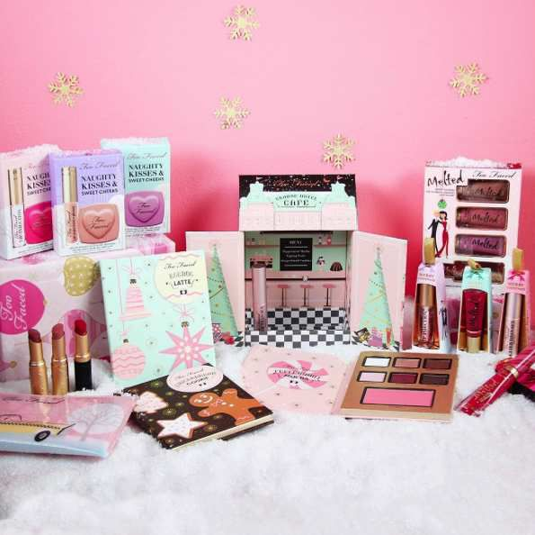 Holiday makeup collections 2016 : Too faced, Kat Von D, Tarte, Becca, Anastasia, Benefit...