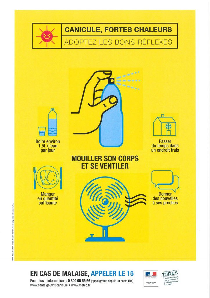 ATTENTION CANICULE ......