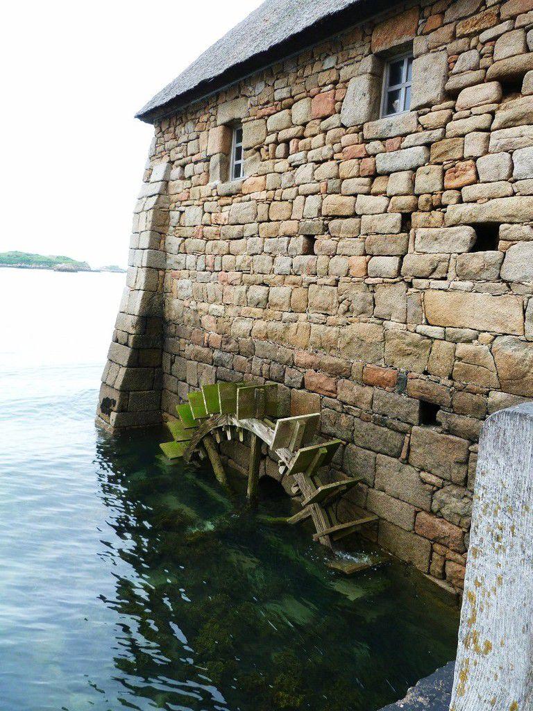 Moulin à marée du Birlot sur l'ile de Bréhat